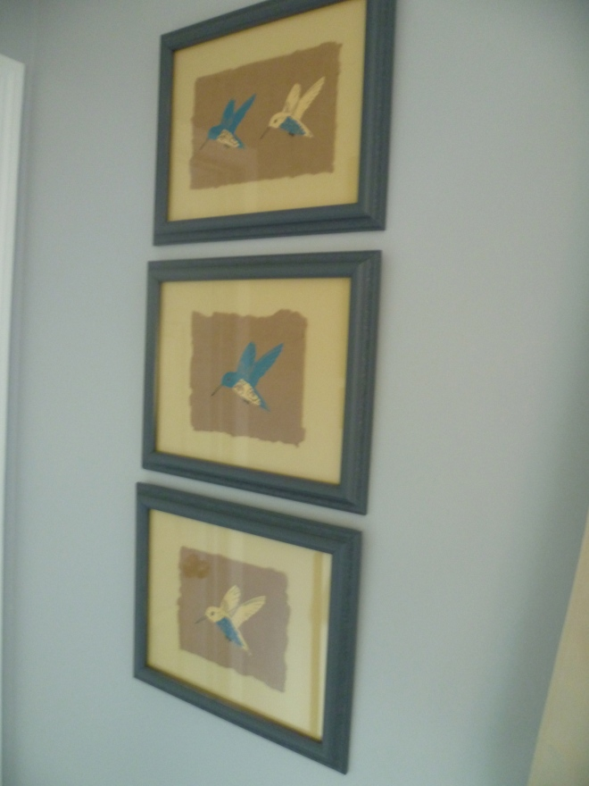 yellow bird + blue bird=love