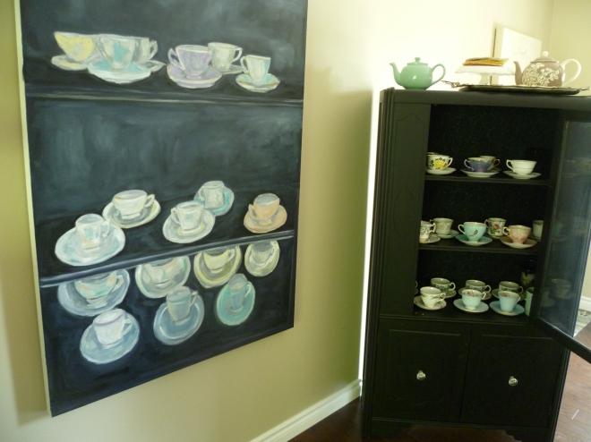 Teacup Painting Amy Barrett