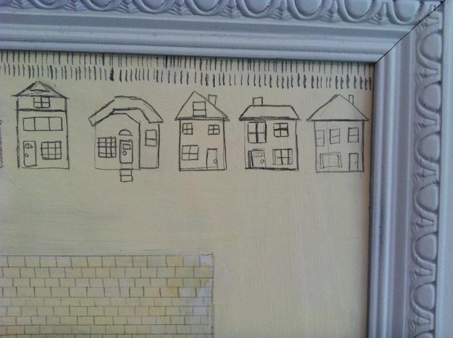 Pencil Houses 1