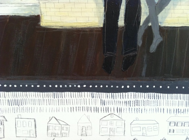 Pencil Houses & Feet