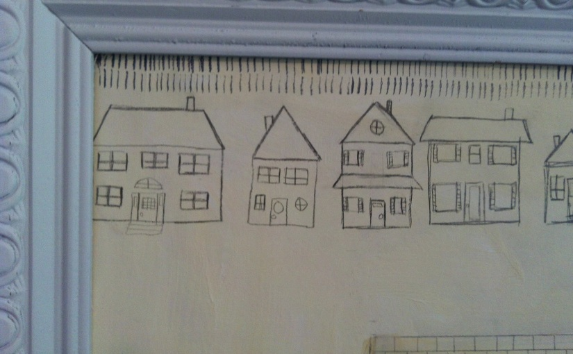 Pencil Houses &Feet